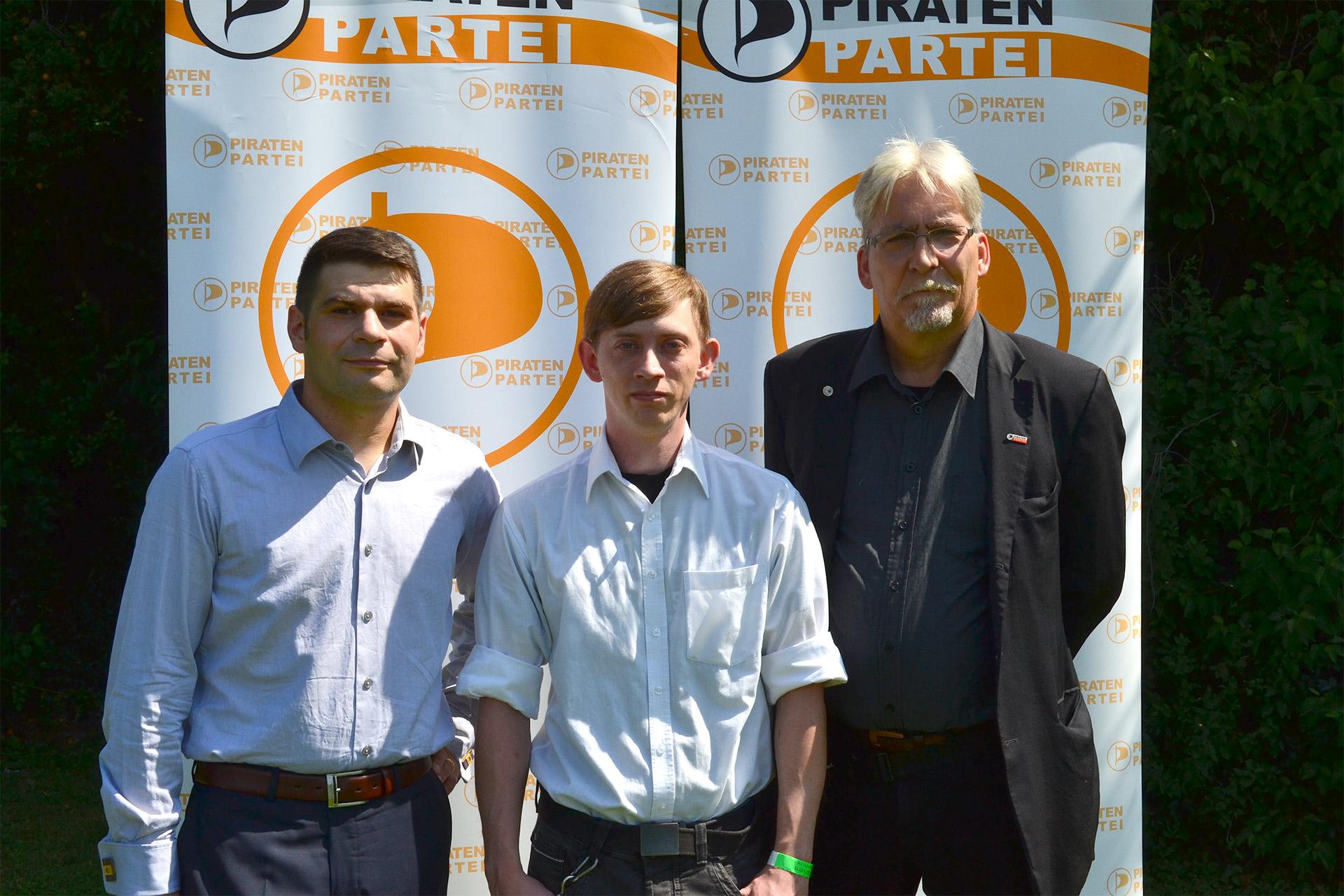 Spitzentrio: Thomas Mayer, Benjamin Wildenauer, Martin Kollien-Glaser